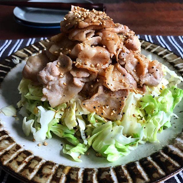 簡単な人気料理!豚バラキャベツマウンテン
