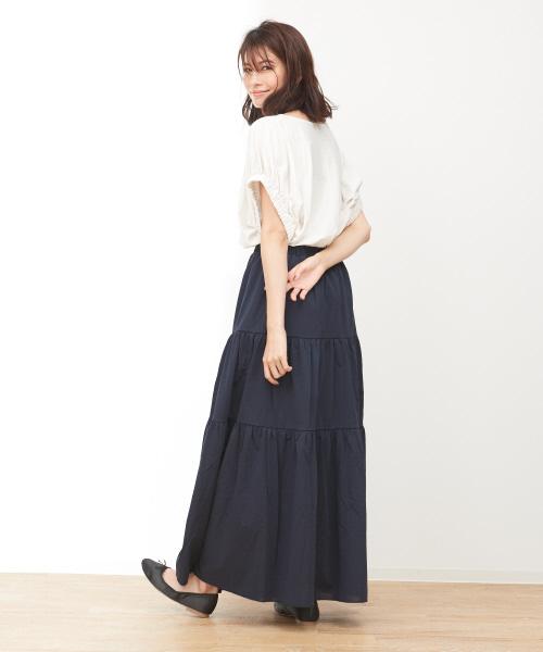 きれいめスカートのコーデ