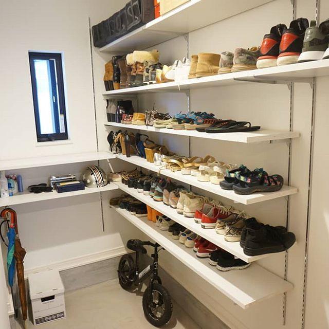 靴のおしゃれな収納DIY15