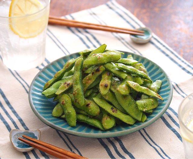 アレンジ料理で簡単レシピ!人気の焼き枝豆
