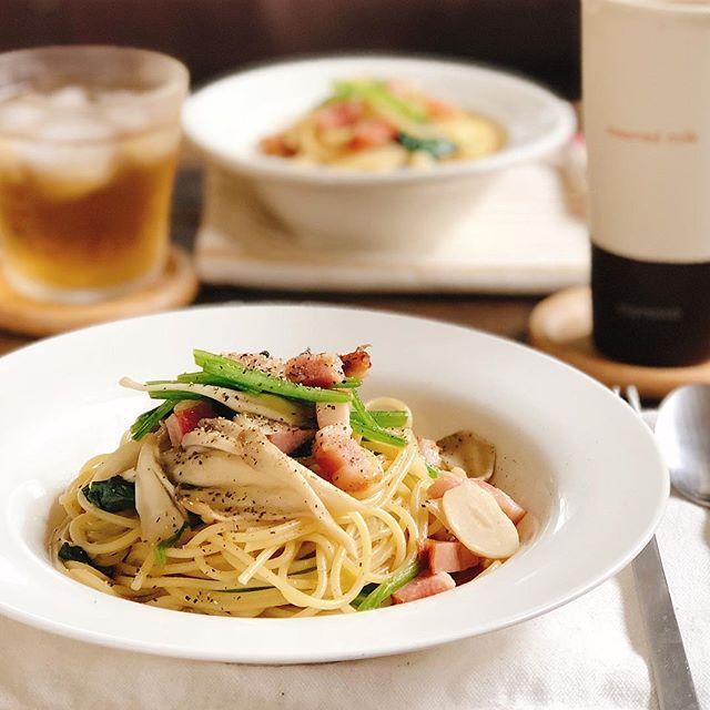お弁当にパスタの簡単人気レシピ☆オイル系