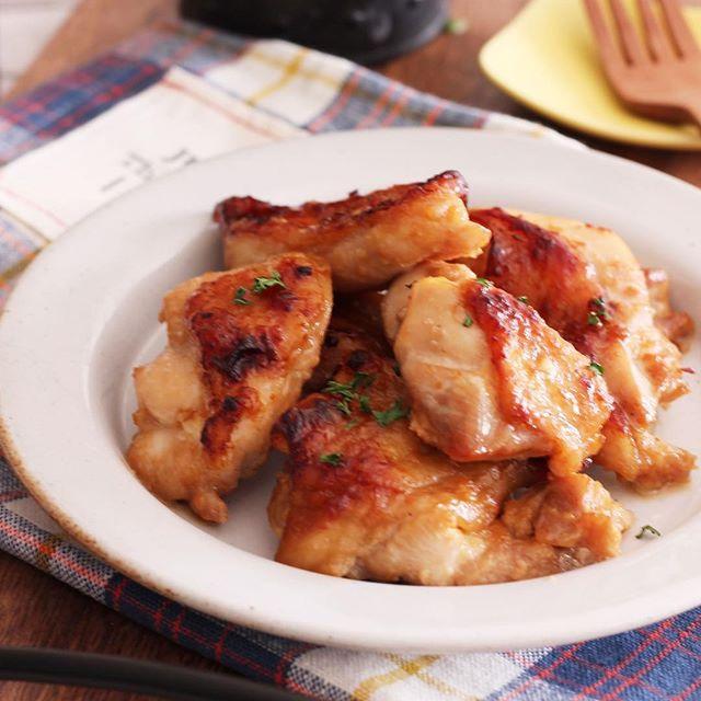 簡単にできる節約レシピ!味噌マヨチキン