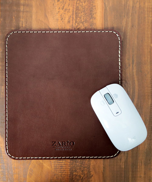 [KAZZU] [ZARIO-GRANDEE- ザリオグランデ] マウスパッド 本革 日本製 ZAG-0037