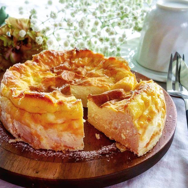 誕生日ケーキに人気レシピ!ベイクドチーズケーキ