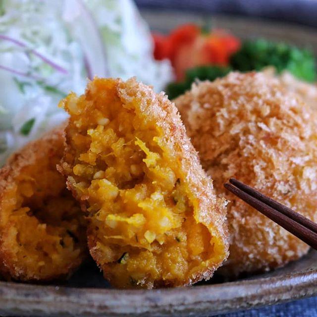 今日の献立はかぼちゃでアレンジレシピ☆和風5