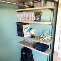 【連載】クローゼットを大改造★簡単DIYで可動棚をつけて壁ペイントしよう!