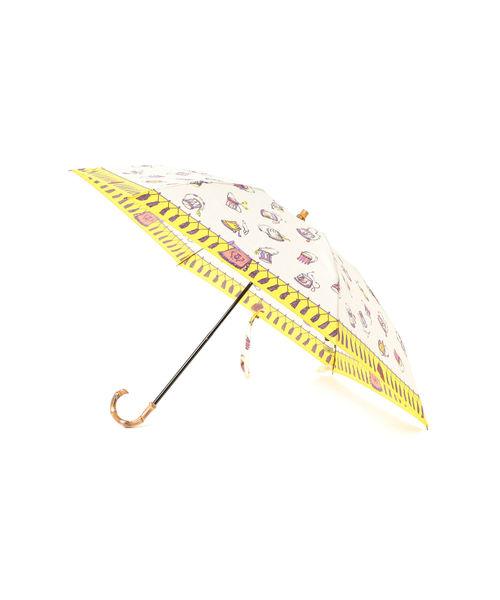 [BEAMS WOMEN] manipuri / フェスティバル 晴雨兼用 折傘