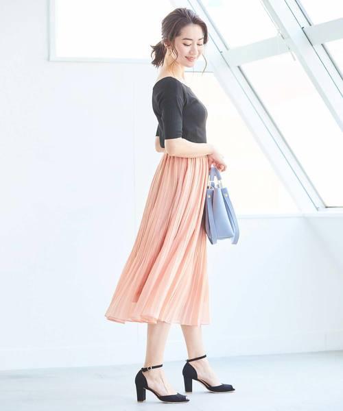 [ur's] ランダムプリーツスカート