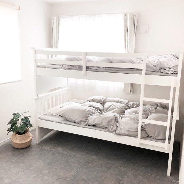 省エネスペースの2段ベッド