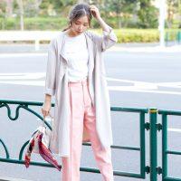 最旬パンツスタイル15選◆30代40代に似合う旬の着こなし術をご紹介!