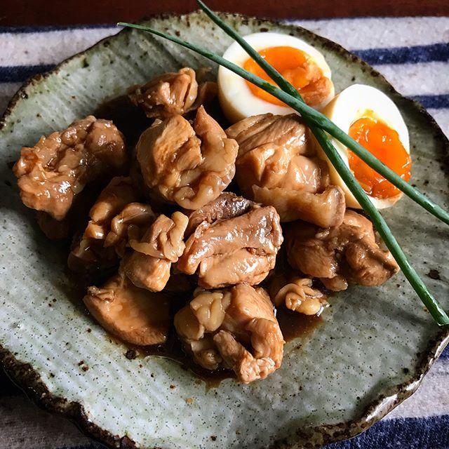 メイン料理に!鶏のソース煮