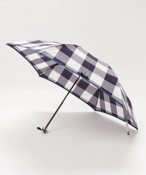 [MOONBAT] 折りたたみ傘 【ジャガード チェック】