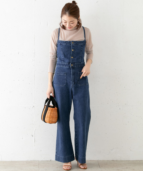 [URBAN RESEARCH ROSSO WOMEN] ROSSO×Lee <別注>DENIM SALOPETTE