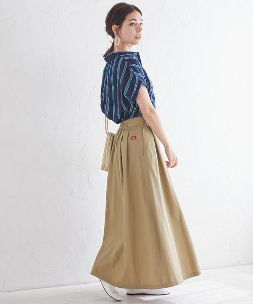[Chaco closet] Dickies/ディッキーズ 別注 TCツイルタック入りロングスカート