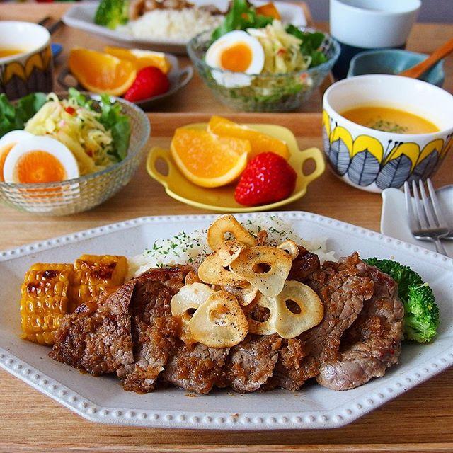 牛肉の人気レシピ16