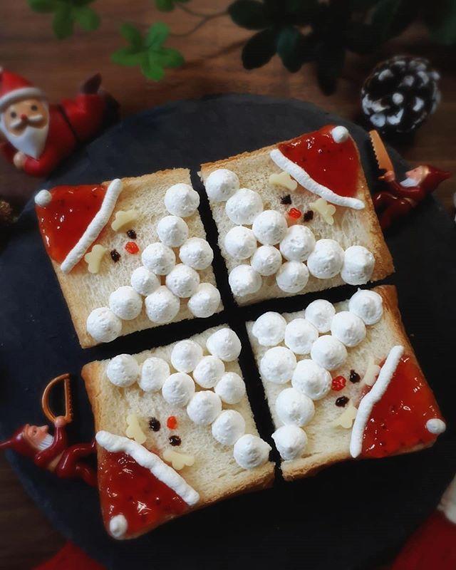 イチゴジャム&ホイップクリーム食パン