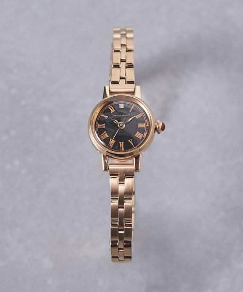 [UNITED ARROWS] UBCS サークル メタル 腕時計†