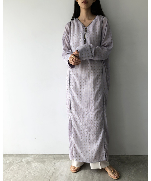 [TODAYFUL] エンブロイダリーボイルドレス