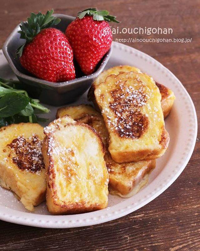 おしゃれな朝ご飯に!人気のフレンチトースト
