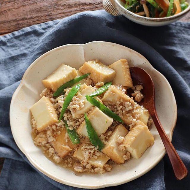 美味しい豆腐のおかずレシピ☆厚揚げ豆腐