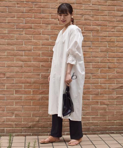 [BEAMS WOMEN] Dono / PVC 巾着 BAG