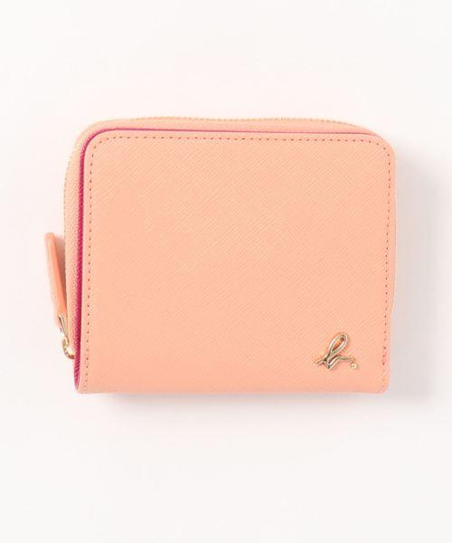 サフィアーノエンボスレザー二つ折り財布