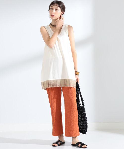 [BEAMS WOMEN] BALI WERKSTATTE / Wood Beads Bag