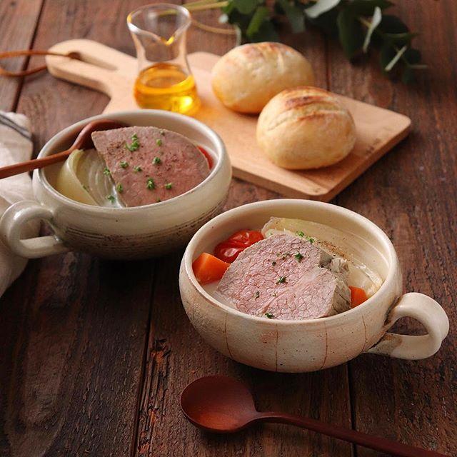 誕生日のメニューに!牛肉のメープル煮込みスープ