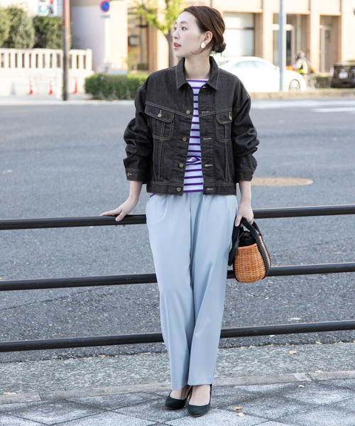 [URBAN RESEARCH ROSSO WOMEN] ROSSO×Lee <別注>OVER SIZE DENIM JACKET