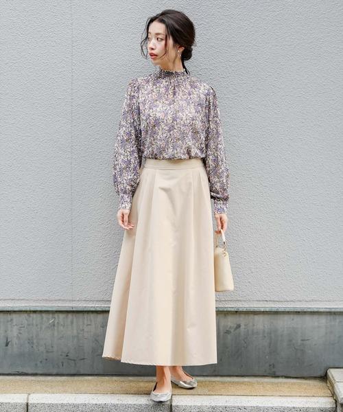[clear] ≪2020SS新作≫【WEB限定】タックロングスカート