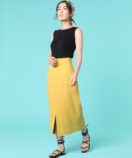 [SUPERIOR CLOSET] ハイウエストタイトスカート《PONTETORTO》