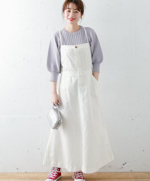 [URBAN RESEARCH] Wrangler 別注サロペットスカート