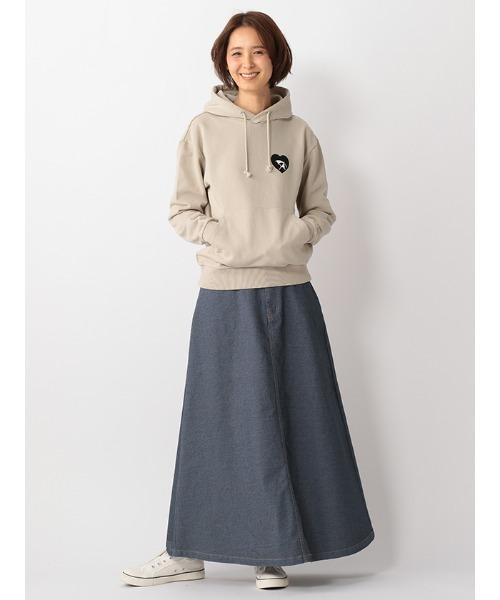 [arnold palmer timeless] デニムロングスカート