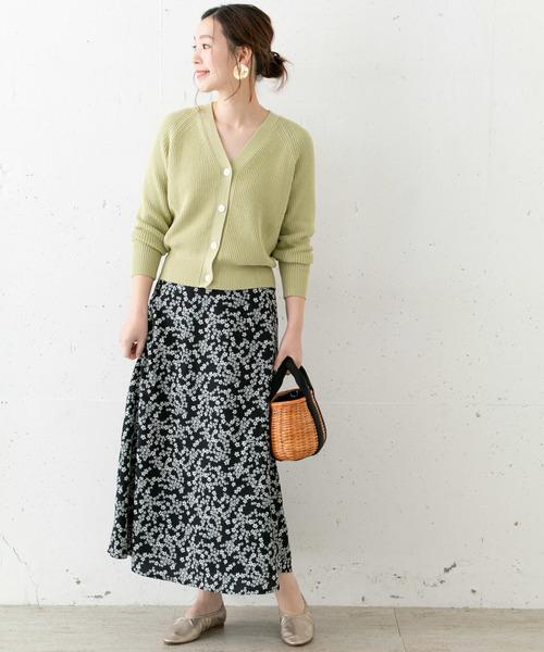 [URBAN RESEARCH ROSSO WOMEN] フリージアフラワープリントスカート