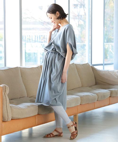 [BEAMS WOMEN] LA CYBELLE / バタフライ ドレス 20(マタニティ対応)