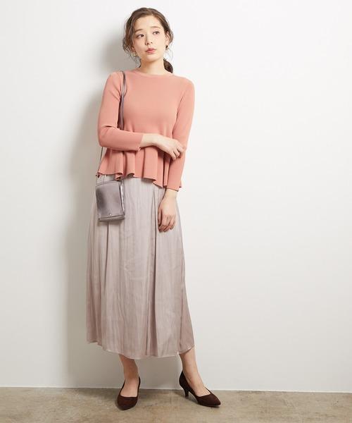 大人女性のためのスカートを使ったカジュアルコーデ3