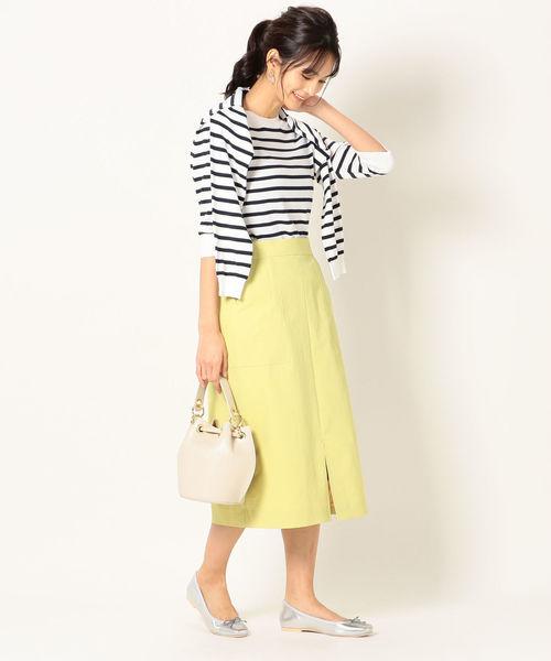 [SHIPS for women] SHIPS any:ポケットタイトスカート