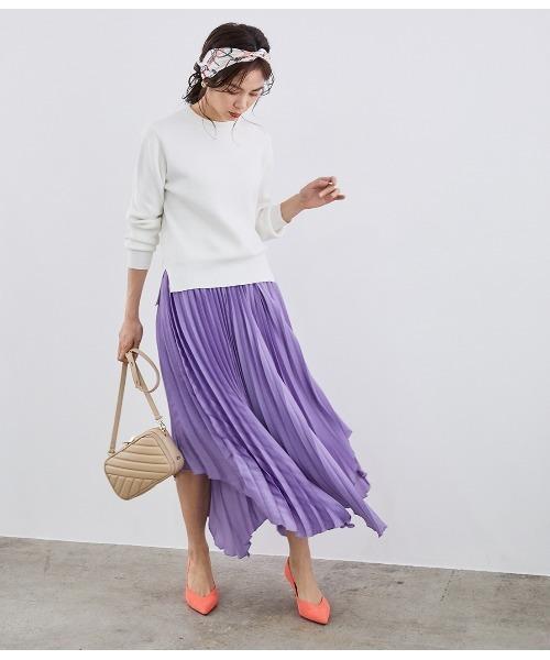 大人女性のためのスカートを使ったカジュアルコーデ2