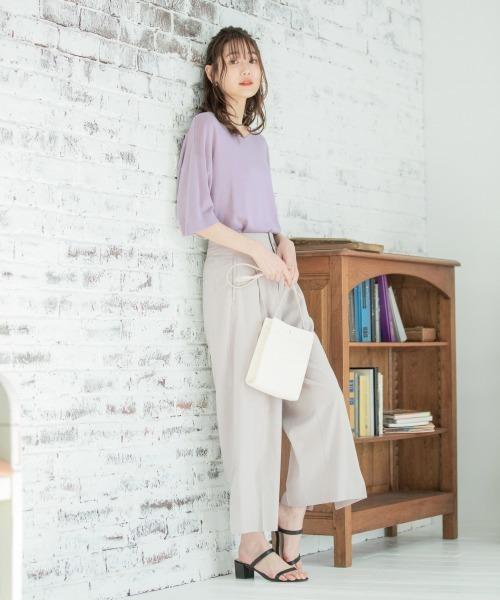 【2020最新】春の黒サンダルコーデ4