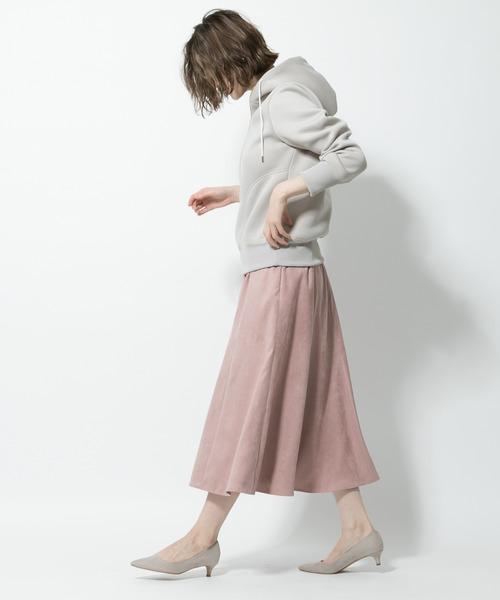 [RIVE DROITE] エコスエードマーメイドスカート