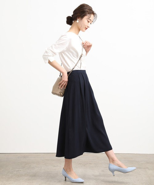 [ViS] マルチウェイフラワープリントスカート