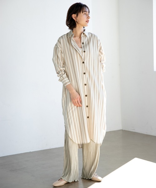 [apart by lowrys] CoTeLiシャツワンピース 910308