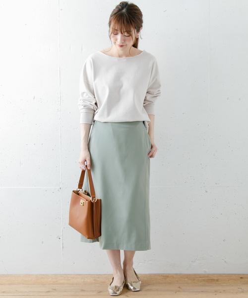 [URBAN RESEARCH] ラップミディスカート