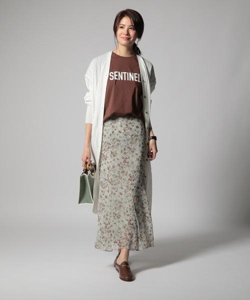 [BABYLONE] コバナガラマーメイドスカート