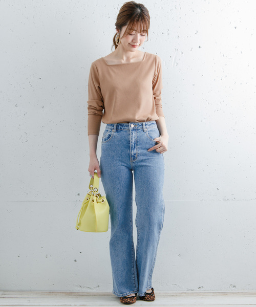 [URBAN RESEARCH] ROLLA'S EASTCOAST CROP FLARE