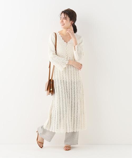 [IENA] crochetワンピース◆