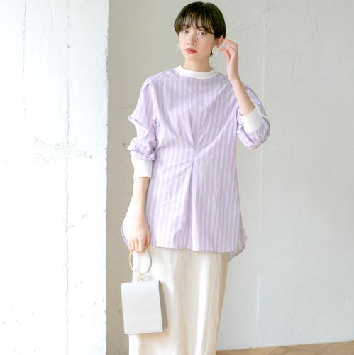ストライプシャツの大人女性コーデ【2020最新】爽やかな着こなしを季節別にご紹介