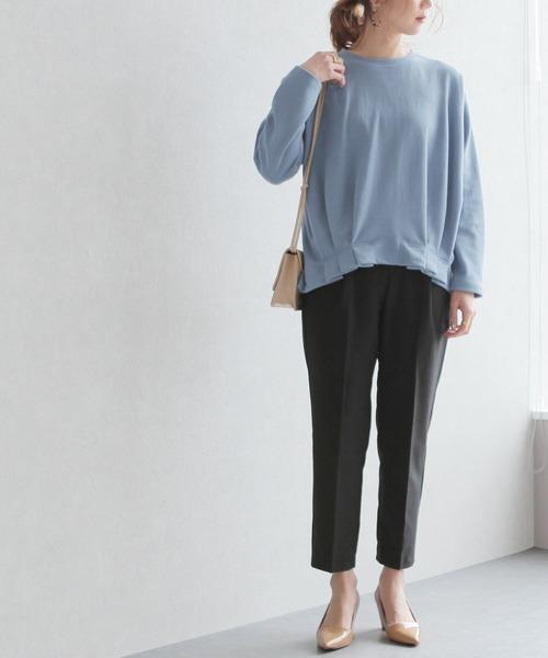 [reca] 裾タックカットソー