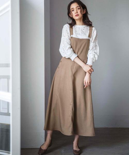 [GeeRA] 【WEB限定】サロペットジャンパースカート