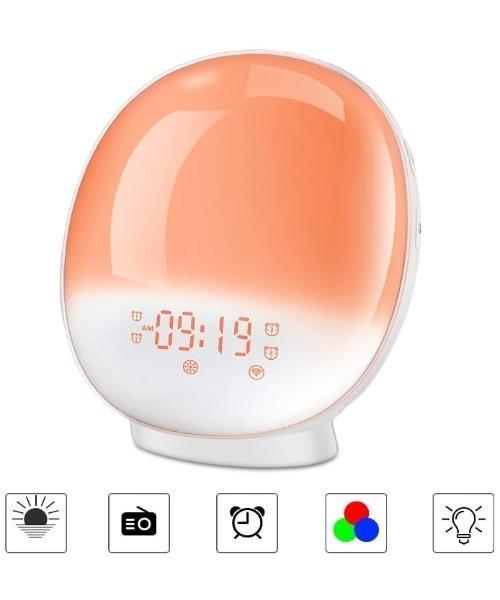 [aimoha] 目覚まし時計 多色変換